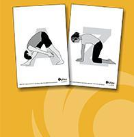 Image of two yoga cards